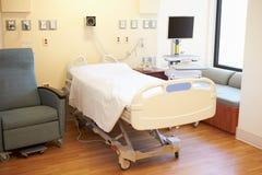 Tomt sjukhusrum arkivfoton