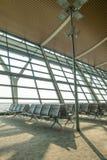 tomt terminal vänta för flygplatsområde Royaltyfria Bilder