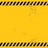 Tomt varningsbaner Arkivbilder