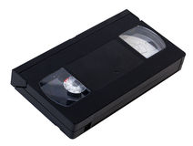 Tomt VHS videoband Arkivbild