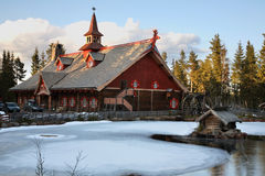 Tomteland – house of Santa Claus. Sweden Stock Photo