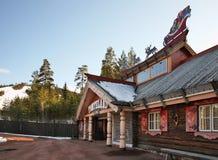 Tomteland †'dom Święty Mikołaj Szwecja fotografia stock