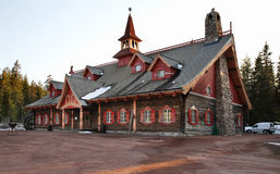 Tomteland —hus av Santa Claus sweden Arkivfoto
