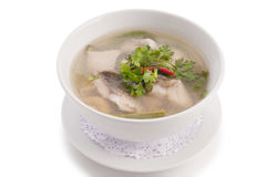 Tomyam del pesce dello snapper Fotografie Stock Libere da Diritti
