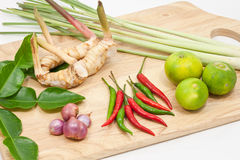 Tomyam Ingredient Stock Images