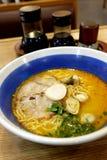 Tomyam Ramen - Japanese food in Thai style Stock Images