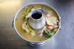 Tomyum huapla. Is food in thailand Stock Image