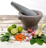 TomYum ingredients Royalty Free Stock Photography