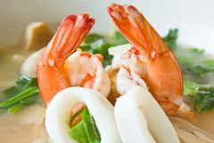Tomyum kung thai food Stock Photo