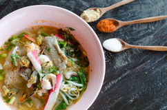 Tomyum noodle Stock Image