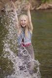Tonårig flicka Royaltyfri Fotografi