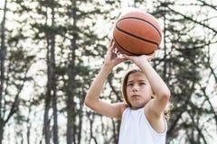 Tonårig idrottsman Arkivfoton