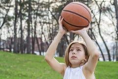 Tonårig idrottsman Arkivfoto