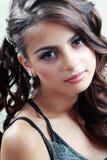Tonårig modellflicka royaltyfria bilder