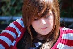 tonåring Fotografering för Bildbyråer
