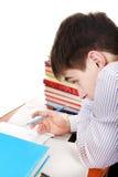 Tonåring som förbereder sig för examen Royaltyfri Fotografi