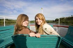 tonåringar royaltyfria bilder