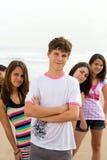 tonåringar Fotografering för Bildbyråer