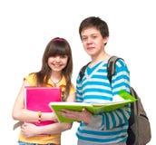 tonåringar två Arkivfoto