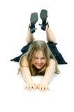 Tonåringflicka Fotografering för Bildbyråer