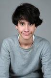 Tonåringpojke royaltyfri fotografi