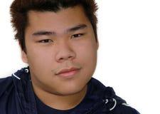 tonårs- asiatisk pojke Arkivbilder