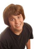 tonårs- attraktiv pojke Royaltyfri Bild