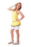 tonårs- barn för mode arkivfoton