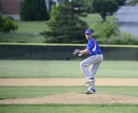 Tonårs- baseballkanna Arkivbilder