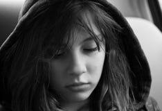 tonårs- flicka arkivfoton