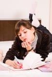 tonårs- flicka Royaltyfri Foto