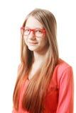 Tonårs- flicka för realitet Arkivbild