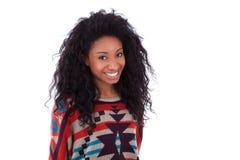 Tonårs- flicka för ung afrikansk amerikan Royaltyfria Foton