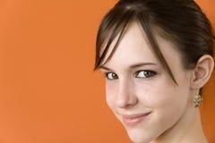 tonårs- flickafotomateriel Royaltyfri Bild
