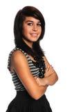 tonårs- flickalatinamerikan Arkivbild
