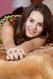 tonårs- härlig flicka Royaltyfri Bild