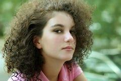 tonårs- härlig flicka royaltyfri foto