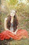 tonårs- härlig flicka Royaltyfri Fotografi