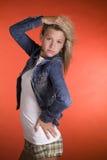tonårs- modemodell Royaltyfri Bild