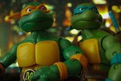 Tonårs- mutantninjasköldpaddor Royaltyfri Foto