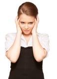 tonårs- olyckligt för flicka Royaltyfria Foton