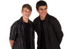 tonårs- pojkar Royaltyfri Fotografi