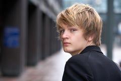 tonårs- pojke royaltyfri foto