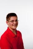 Tonårs- pojke arkivbild