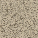 Ton auf Ton Swirlies vektor abbildung