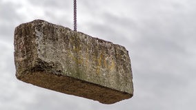 3 ton betonowy blok Obraz Stock