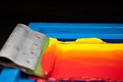 Ton chaud de couleur Photo libre de droits