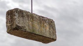 3 ton concreet blok Stock Afbeelding