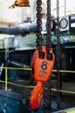 8 ton Dźwigowy haczyk Hamilton, Ohio - mistrza Papierowy młyn - Obrazy Royalty Free