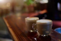 Ton de vintage de café de matin Images libres de droits